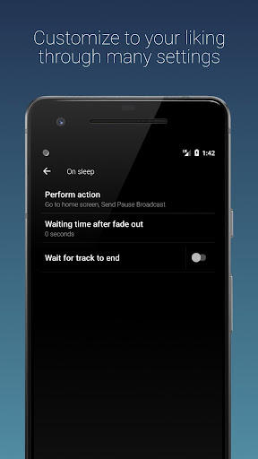 Sleep Timer (Turn music off) 2.5.3 screenshots 4