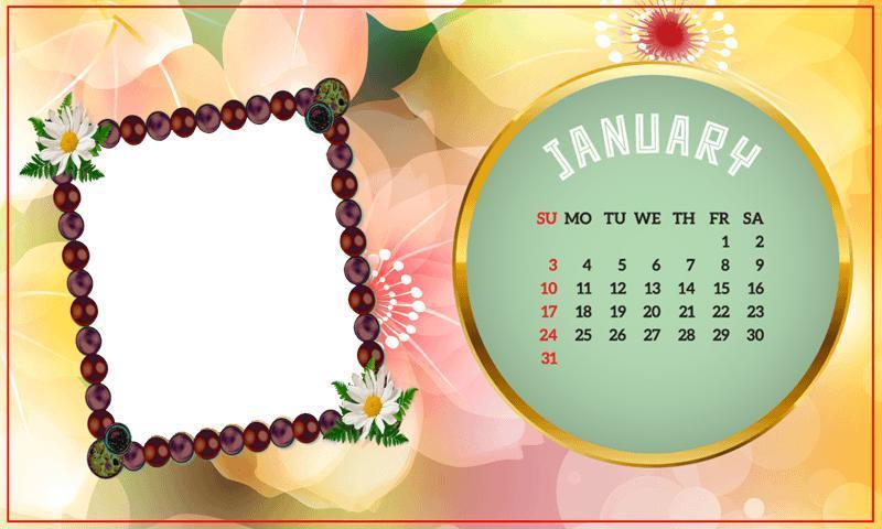 calendar frames 2017 screenshot