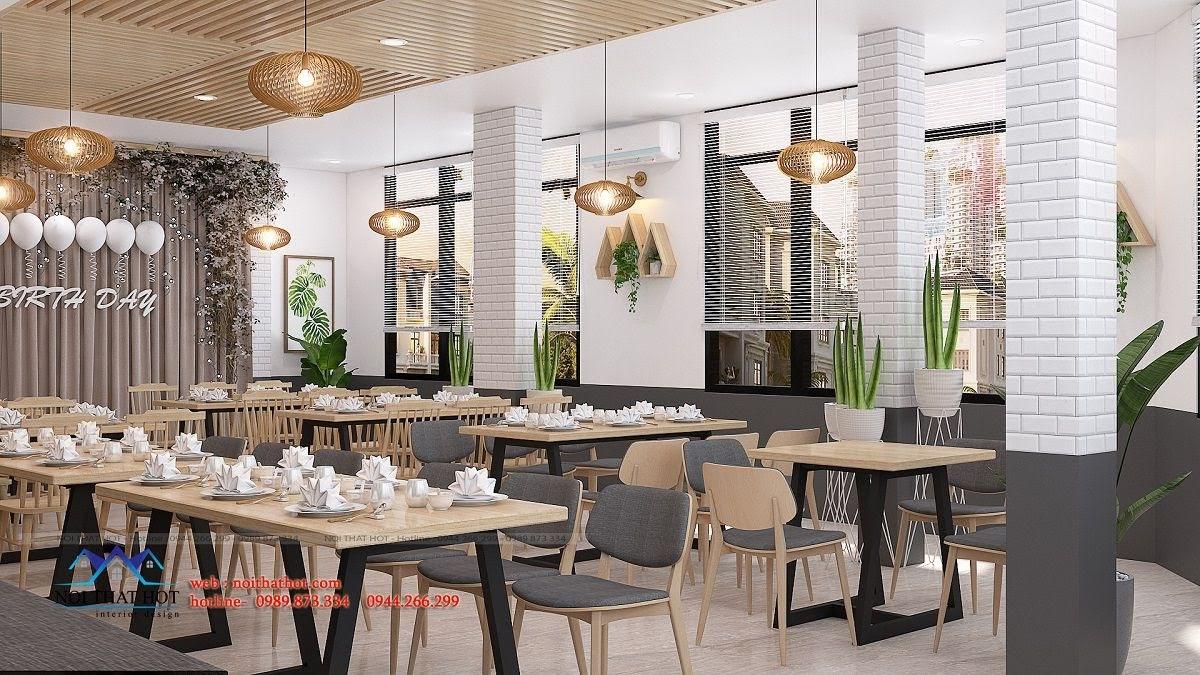 thiết kế nhà hàng trường giang 27