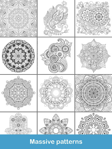 100+ Mandala coloring pages  screenshots 24