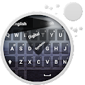 GO Keyboard Mare nero icon