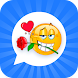 Emoji Love GIF Stickers for WhatsApp