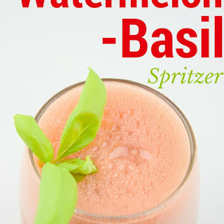 Watermelon Basil White Wine Spritzer