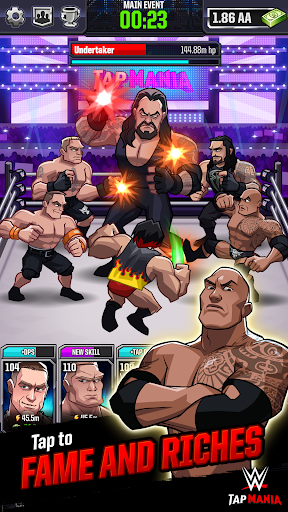 WWE Tap Mania: Get in the Ring in this Idle Tapper 17637.20.0 screenshots 1