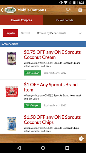 Sprouts Screenshot