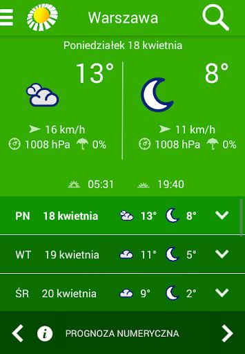 Pogodynka METEO-IMGW  screenshots 4