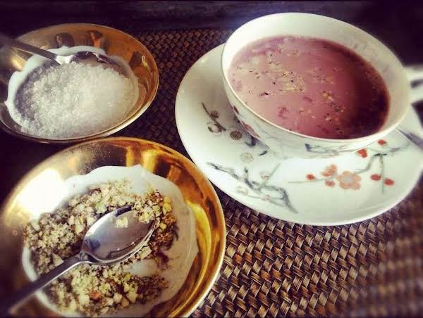 Kashmiri Chai Recipe With Pistachios And Almonds