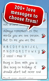 Cute Love Text Messages ♥- screenshot thumbnail