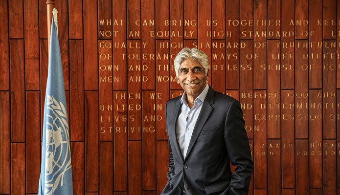 Ashok Amritaraj as UN ambassador
