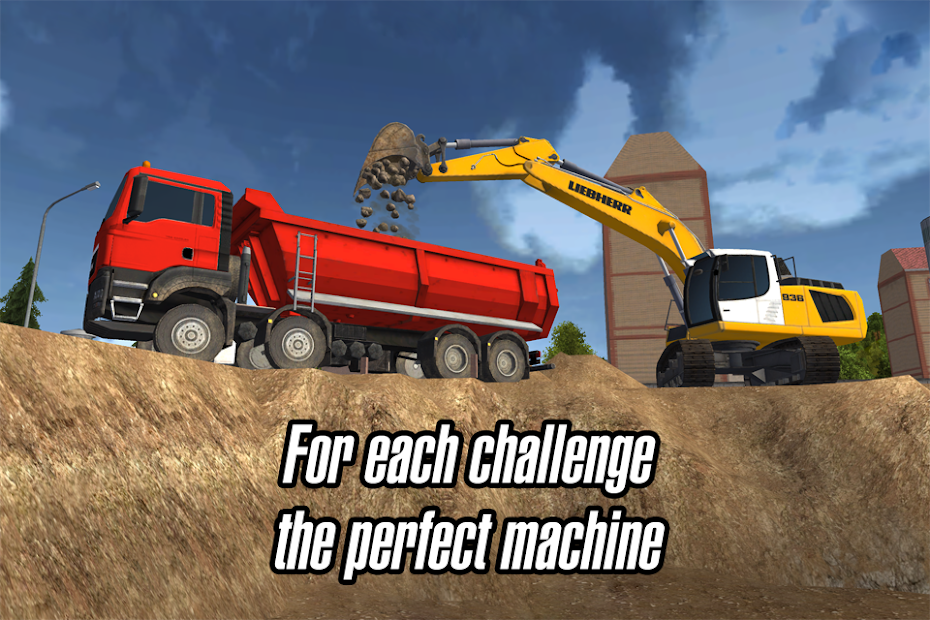Construction Simulator 2014 Android App Screenshot