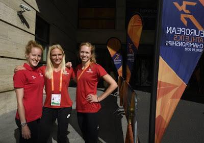 Les trois Belges sont qualifiées pour les demi-finales du 400 mètres haies