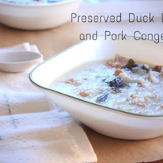 Preserved Duck Egg and Shredded Pork Congee Recipe