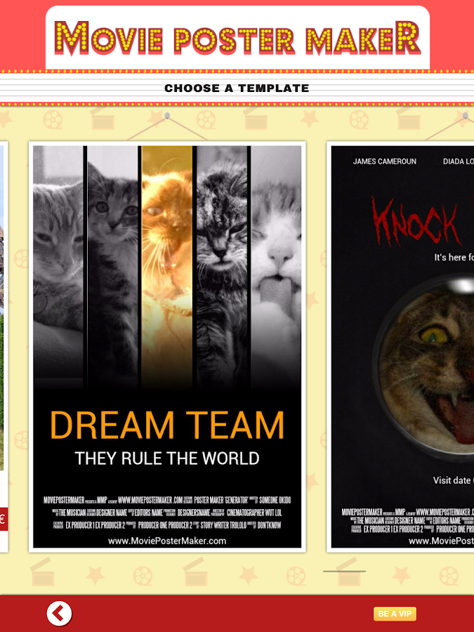 Movie Poster Maker & Template- screenshot