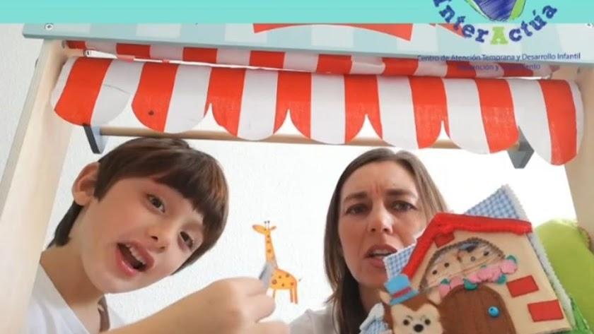 Videocuentos de InterActúa durante la semana del Día Internacional del Libro.