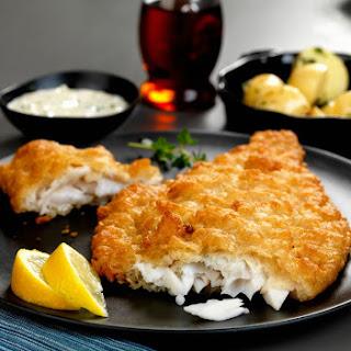 Crispy Deep Fried Flounder.