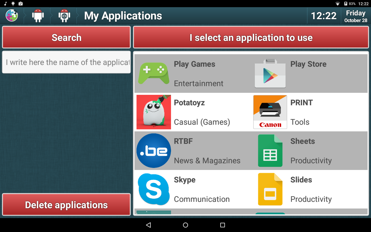 Elementique - Launcher- screenshot