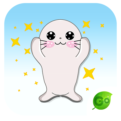 GO Keyboard Baby Seal Sticker 個人化 App LOGO-硬是要APP