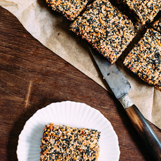 Sesame-Peanut Bars Recipe