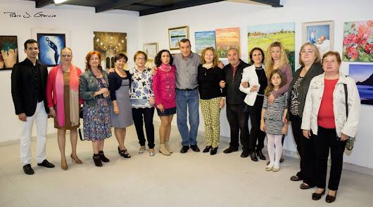 Pinceladas de aniversario: 20 años de Artistas Plásticos de Almería 'Indalo'