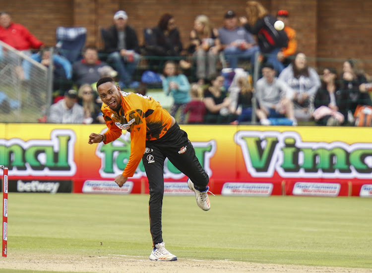 NMB Giants left-arm spinner Aaron Phangiso will have a role to play against the Paarl Rocks on Wednesday