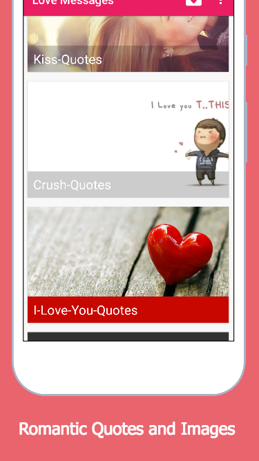 Love Messages SMS Collection- screenshot