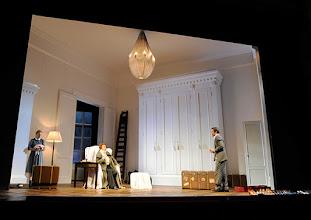Photo: Wien/  Theater in der Josefstadt: AM ZIEL von Thomas Bernhard. Inszenierung Cesare Lievi. Premiere am 12.3.2015.  Andrea Jonasson, Christian Nickel. Foto: Barbara Zeininger