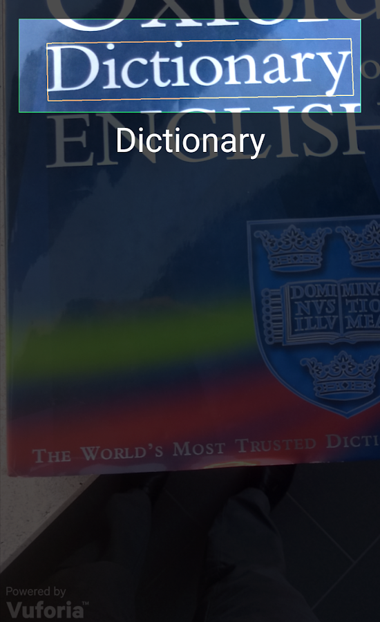 Collins English and Thesaurus- screenshot