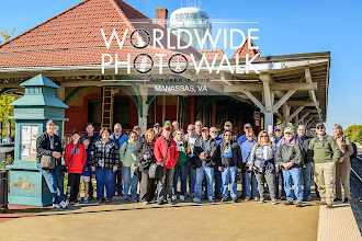 Photo: We can't forget the Manassas, Virginia USA photo walk group photo, led by none other than +Jeff Revell of PhotoWalkPro.com