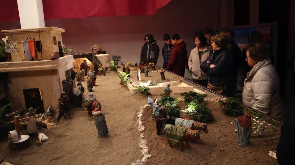 Belén de la Asociación de Amigos de la Navidad de Berja.