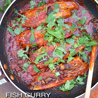 Fish Curry With Anise