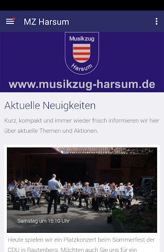 musikzug harsum screenshot 1
