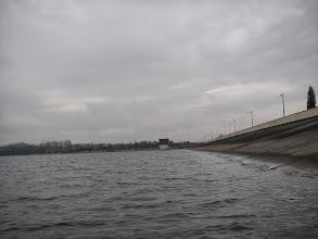 Photo: korona zapory głównej jeziora