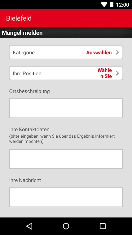 bielefeld b rgerservice android apps auf google play. Black Bedroom Furniture Sets. Home Design Ideas
