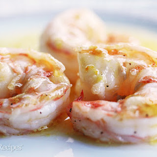 Shrimp with Orange Beurre Blanc