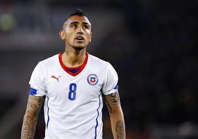 Vidal absent contre l'Espagne ?
