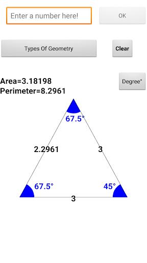 Geometry Calculator free screenshots 2