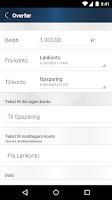 Screenshot of Alm. Brand Mobilbank