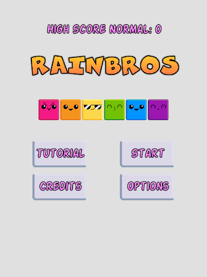 Rainbros- screenshot
