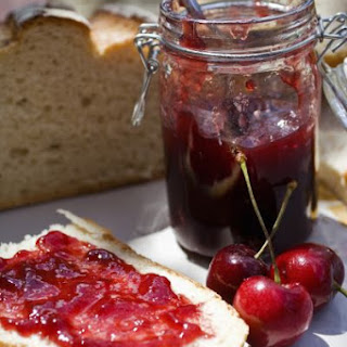 Low Carb High Fiber Cherry Jam