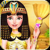 Ai Cập công chúa hoàng gia nhà vệ sinh cô gái trò Mod