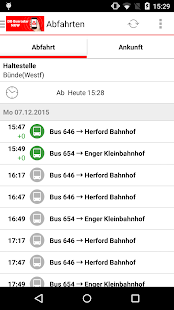 DB Busradar NRW- screenshot thumbnail