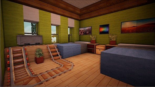 Download room ideas minecraft for pc - Minecraft computer decoration ...