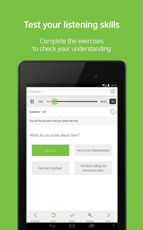 App LearnEnglish Podcasts - Free English listening APK for ...