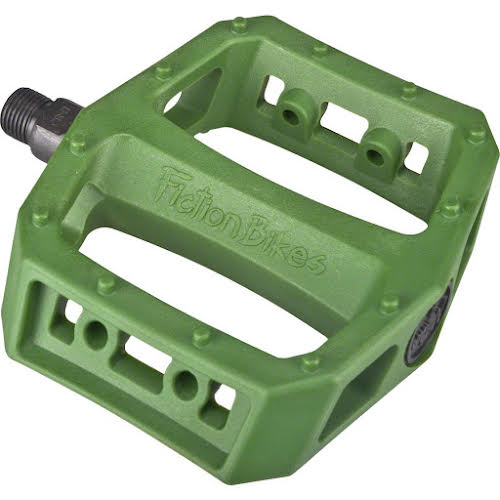 Fiction BMX Mythos Pedals Spec Ops Green