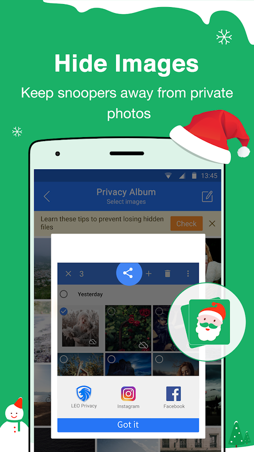 Screenshots of LEO Privacy-Applock,Hide,Safe for iPhone