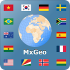 World atlas & world map MxGeo Pro icon