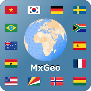 World atlas & map MxGeo Pro APK Cracked Download