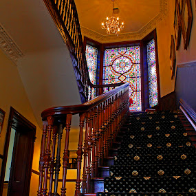 The staircase  by Wilson Beckett - Buildings & Architecture Office Buildings & Hotels (  )