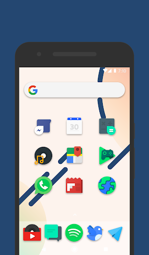 Frozy / Material Design Icon Pack - screenshot