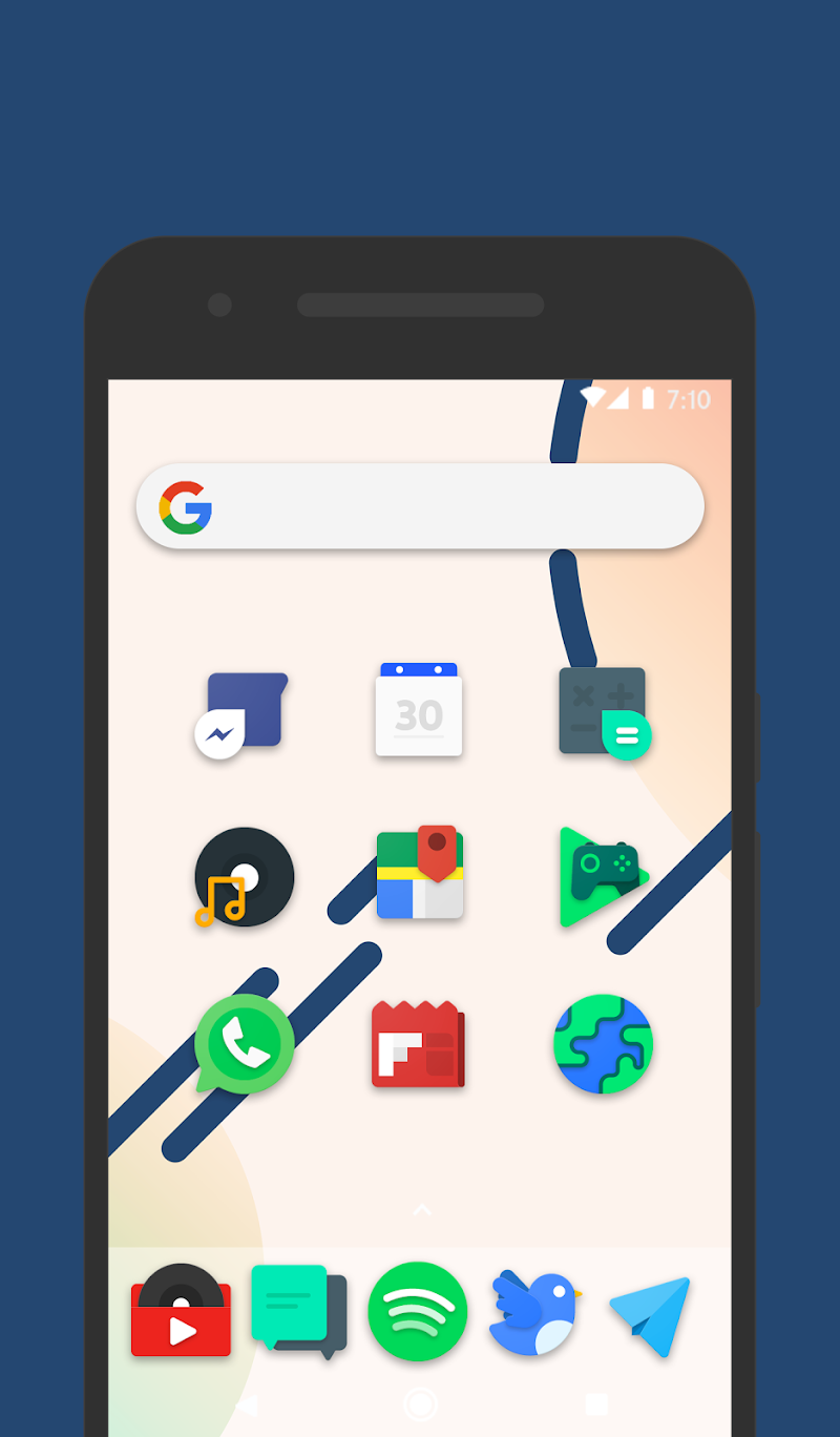 Frozy / Material Design Icon Pack Screenshot 11